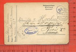 MILITARIA: Carte Correspondance Prisonnier De Guerre (Kriegsgefangener) Camp De Goltau 1916 1915 - Guerre 1914-18