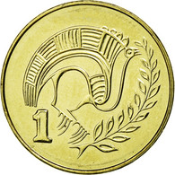 Monnaie, Chypre, Cent, 2004, SPL, Nickel-brass, KM:53.3 - Chypre