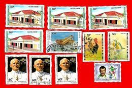 3378 -- CAMEROUM  --  Lot De Timbres; Oblitérés - Cameroun (1960-...)