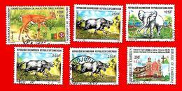 3379 -- CAMEROUM  --  Lot De Timbres; Oblitérés - Cameroun (1960-...)
