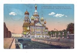 RU 190000 SANKT PETERSBURG, Eglise De La Resurrection, 1912 - Russland
