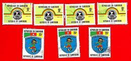 3380 -- CAMEROUM  --  Lot De Timbres; Oblitérés - Cameroun (1960-...)