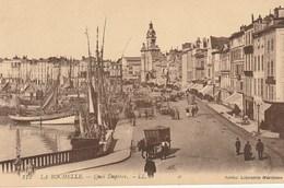 CPA 17 (Charente Maritime) LA ROCHELLE / LE QUAI DUPERRE / ANIMEE - La Rochelle