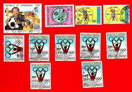 3381 -- CAMEROUM  --  Lot De Timbres; Oblitérés - Cameroun (1960-...)