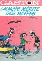 GASTON - 13 - Lagaffe Mérite Des Baffes - DUPUIS - Gaston