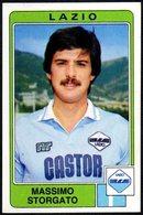 FOOTBALL - PANINI - CALCIATORI 1984/1985 - LAZIO - MASSIMO STORGATO - STICKER N. 155 - Calcio