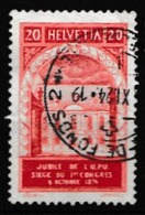 SUISSE 1924:  Timbre UPU  (ZNr 167 AI),  Oblitéré - Schweiz
