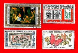 3385 -- CAMEROUM   P.A.--  Lot De Timbres; Oblitérés - Cameroun (1960-...)