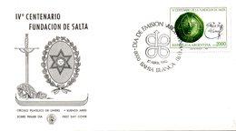 ARGENTINE. N°1285 De 1982 Sur Enveloppe 1er Jour. Pièce D'art Précolombien. - Archéologie