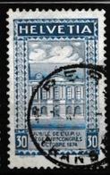 SUISSE 1924:  Timbre UPU  (ZNr 168 BI),  Oblitéré - Schweiz