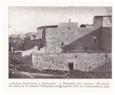 1924 - Iconographie - Ceyreste (Bouches-du-Rhône) - Les Anciens Remparts - FRANCO DE PORT - Non Classificati
