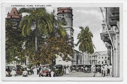 Cathedral Park, Panama City. - Panama