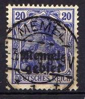 Memel 1920 Mi 4, Gestempelt [120119XXII] - Klaipeda