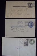USA Postal Card  3 Krt 1910 1911 1934 - Interi Postali