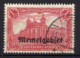 Memel 1920 Mi 9, Gestempelt [120119XXII] - Memelgebiet