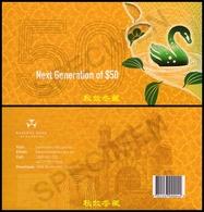 Australia $50, 2018, Polymer, Sign.9: Lowe-Fraser, In The Folder - 2005-... (Polymer)