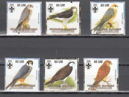 Mauritania 2002,6V In Set,birds Of Prey,roofvogels,birds,vogels,vögel,oiseaux,pajaros,uccelli,aves,MNH/Postfris(A3645) - Arends & Roofvogels