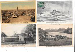 11012 - Lot De 500 CPA Divers France, Pas De Paris, Ni Lourdes, Ni Région Parisienne - Cartes Postales