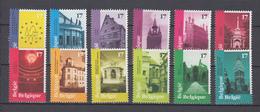 Belgien 1998 ,  Michel Nr:  2815/26  **  ,   Europäische Denkmaltage - European Ideas