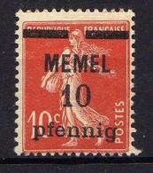 Memel 1920 Mi 19 Y * [120119XXII] - Memelgebiet