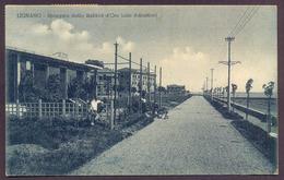 LIGNANO, Spiaggia Dalla Sabbia D'Oro - Viaggiata 1935 - Italia