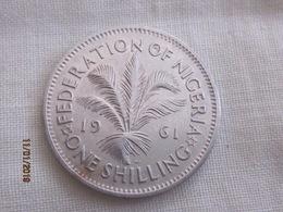 Nigeria: 1 Shilling 1961 - Nigeria