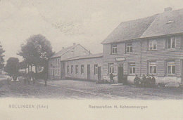 Büllingen  -  Eifel -  Restauration H. Kohnenmergen - Verviers