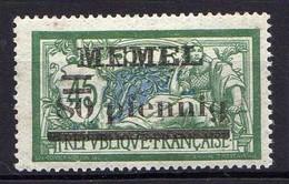 Memel (Klaipeda) 1920 Mi 25 B * [120119XXII] - Memelgebiet