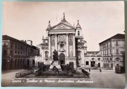TORINO - BASILICA DI MARIA SANTISSIMA AUSILIATRICE - FG 1957 VG CON FRANCOBOLLO - Churches