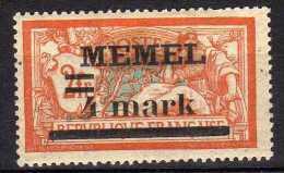 Memel 1920 Mi 31 I X * [120119XXII] - Memel (Klaïpeda)