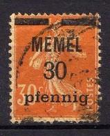 Memel 1920 Mi 21 X, Gestempelt [120119XXII] - Klaipeda