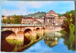 TORINO - GRAN MADRE DI DIO  - FG 1955 VG CON FRANCOBOLLO - Churches