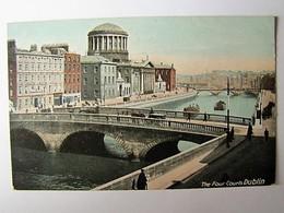 IRELAND - DUBLIN - The Four Courts - Dublin