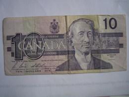 CANADA - Billet De 10 Dollars De 1989 - Canada