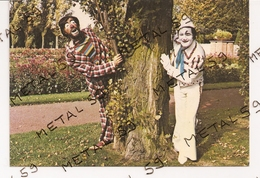 Gyn Et Porto, Clowns Parodistes Et Musicaux (Cuincy, Douai), Dédicace - Francia