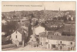 85 - FONTENAY-LE-COMTE - Vue Panoramique - 1927 - Fontenay Le Comte