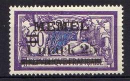 Memel (Klaipeda) 1920 Mi 27 Y * [120119XXII] - Klaipeda