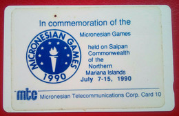 Micronesian Games 10 Units  One Hole) - Northern Mariana Islands