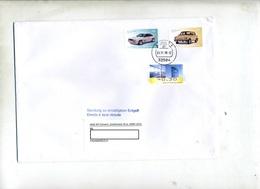 Lettre  Cachet Löhne Sur Voiture Vignette - [7] République Fédérale
