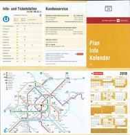 Austria City Plan And Calendar 2018 - Small : 2001-...