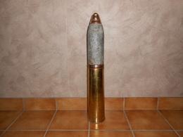 Militaria. Obus 18 Pounder Sur Douille. Vide Et Inerte. 1914 1918. WW1. - Army & War