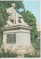 Iasi Monument Sculpture Statue Gheorghe Asachi Unused (ask For Verso) - Monuments