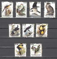 Mauritania 2003,9V,birds,vogels,vögel,oiseaux,pajaros,uccelli,aves,MNH/Postfris(A3656) - Gallinacées & Faisans