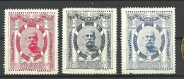 AUSTRIA Österreich 1910 Franz Joseph Vignettes Poster Stamps * - Cinderellas