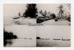 - CPSM FOULPOINTE (Madagascar) - 4 Vues Différentes 1964 - Edition PHOTO-SPORT - - Madagascar