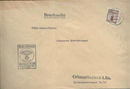 WW II Brief : NSDAP Dienstpost NSKK Motorsturm 6 / M 136 Crimmitschau  1942. - Deutschland