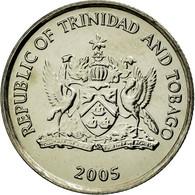 Monnaie, TRINIDAD & TOBAGO, 10 Cents, 2005, Franklin Mint, SPL, Copper-nickel - Trinité & Tobago