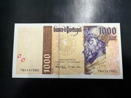 Portugal PAPEL NOTA 1000$00 CH 13 21 MAIO 1998 NOVA - Portugal