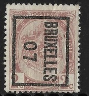 Brussel 1907 Typo Nr. 4Bzz - Precancels