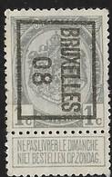 Brussel 1908 Typo Nr. 6B - Precancels